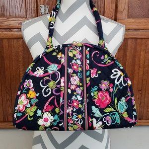 Vera Bradley Clasp Bag Ribbon Pattern